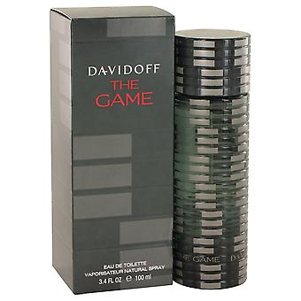 The Game by Davidoff Eau De Toilette Spray 3.4 oz / 100 ml (Men)