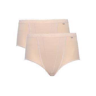 SLOGGI 2 PACK Nude Control Maxi Briefs