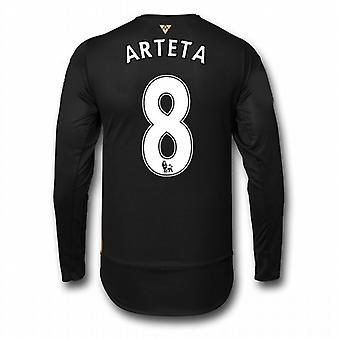 2015-16 Arsenal 3. Cup-Langarm-Shirt (Arteta 8) - Kids