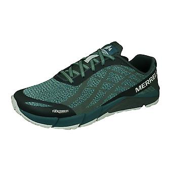Merrell Bare Access Flex Shield Mens Trail Running Trainers / Shoes - Aqua Blue