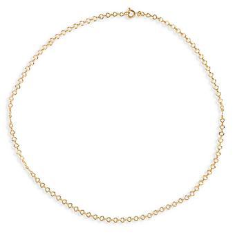 Pläterad Hjärtklädd diamant 19cm