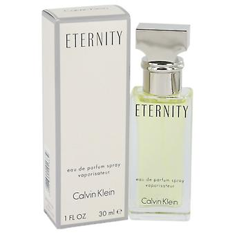 ETERNITY de Calvin Klein Eau De Parfum Spray 1 oz/30 ml (mujeres)