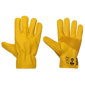 Dunlop Mens Driver Deluxe Gloves Workwear