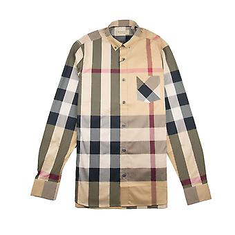 Burberry Thornaby Chemise à manches longues Camel