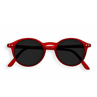 Izipizi Sun Junior #d Red Round Sunglasses