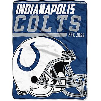 Northwest NFL Indianapolis Colts Micro Plush Blanket 150x115cm