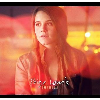 Paige Lewis - One Good Day [CD] USA import