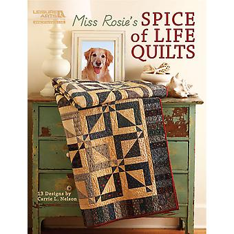 Leisure Arts Miss Rosie's Spice Of Life Quilts La 5026