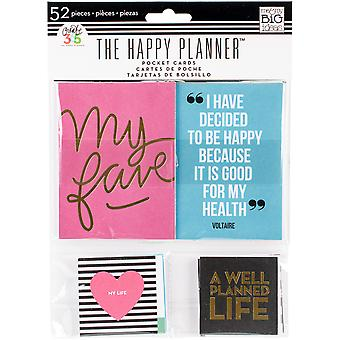 Create 365 Happy Planner Pocket Cards 52/Pkg- PC04