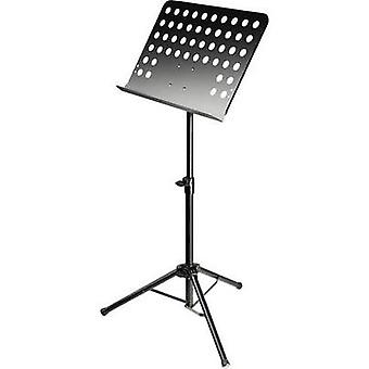 Music stand Adam Hall Black