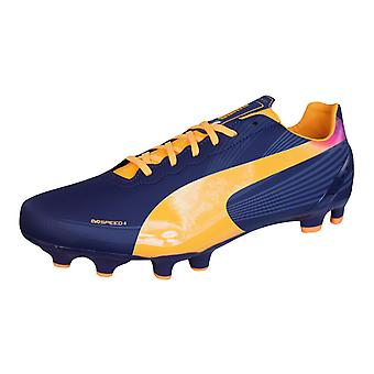 Puma evoSPEED 4.2 FG Mens Football Boots / Cleats - Purple