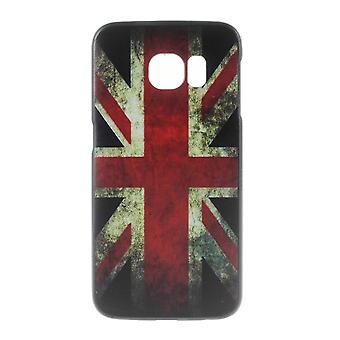 UK flag cover for Samsung Galaxy S6 Edge