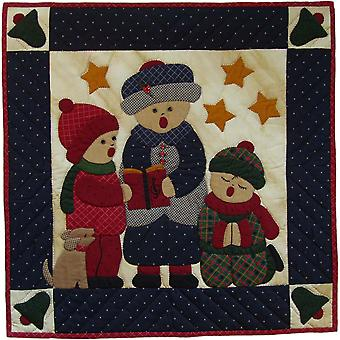 Carolers Wallhanging Quilt Kit-22