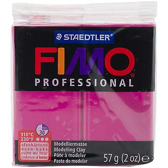 Fimo Professional Soft Polymer Clay 2oz-True Magenta EF8005-210
