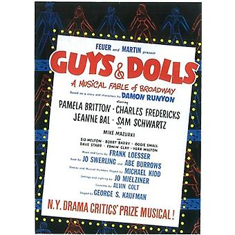 Guys and Dolls (Broadway) Movie Poster (11 x 17)