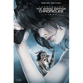 Terminator The Sarah Connor Chronicles - style AX Movie Poster (11 x 17)
