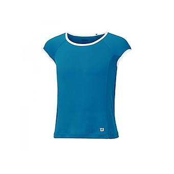Wilson NVision Elite Cap Sleeve Top ultramarine girls WRA709903
