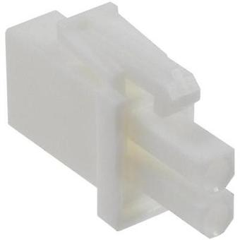 Pin enclosure - cable Universal-MATE-N-LOK Total number of pins 2 TE Connectivity 172165-1 Contact spacing: 4.14 mm 1 pc