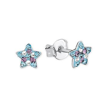 Princess Lillifee children earrings Silver Star crystals 2013175