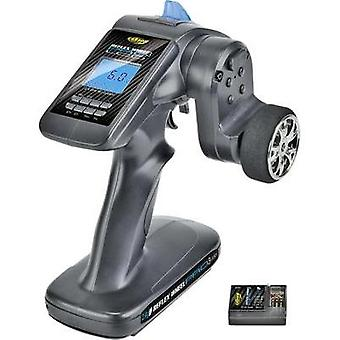 Carson Modellsport Reflex Wheel Pro III LCD 2.4 GHz 11,1V Pistol grip RC 2,4 GHz No. of channels: 3 Incl. receiver