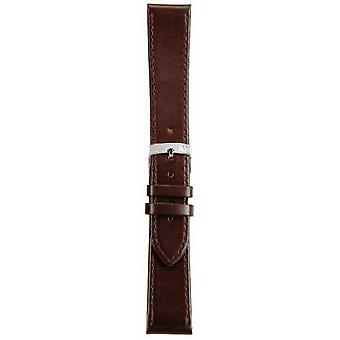 Morellato Strap Only - Sprint Napa Leather Brown 20mm A01X2619875032CR20 Watch