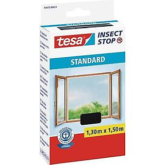 Fly screen tesa Insect Stop Standard (L x W) 1300 mm x 1500 mm Anthracite 1 pc(s)