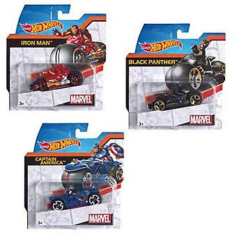 Hot Wheels Marvel Moto World Riders Surtido