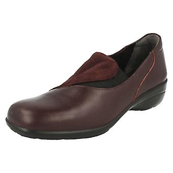 Ladies Easy B Slip On Shoes Swing