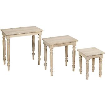 Wellindal Juego de tres mesitas (Home , Living and dining room , Tables , Auxiliary)