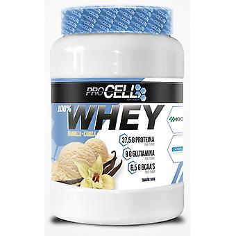 Procell Whey 100% Protein Vainilla Canela 900  gr (Sport , Wiwit)