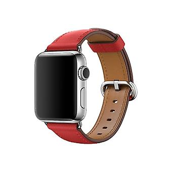 Apple 38 mm Classic Buckle-Klockrem-red-for the Watch (38 mm)