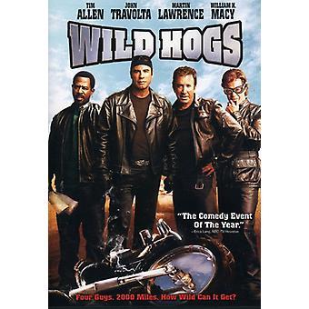 Wild Hogs [DVD] USA importerer
