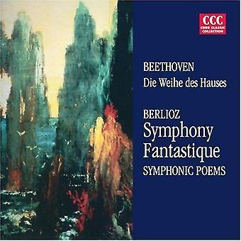 Beethoven/Berlioz - Berlioz: Symfoni Fantastique; Symfoniska dikter [CD] USA import