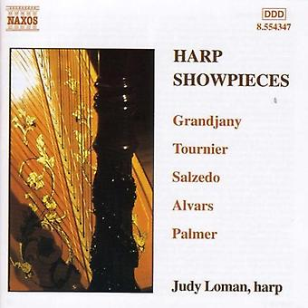Judy Loman - Harp Showpieces [CD] USA import