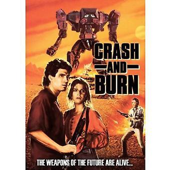 Krasj & brenne [DVD] USA importere