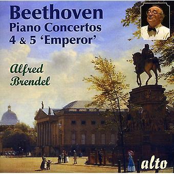 L.V. Beethoven - Beethoven: Piano Concertos 4 & 5 Emperor [CD] USA import