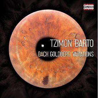 Bach, J.S. / Barto, Tzimon - Variaciones Goldberg de Bach [CD] los E.e.u.u. las importaciones