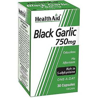 Health Aid Black Garlic (In S-Alilcisteina Rico) 30Vcap. Health