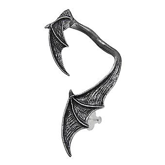 A Night with Goethe Gothic Pewter Bat Wing Ear Wrap