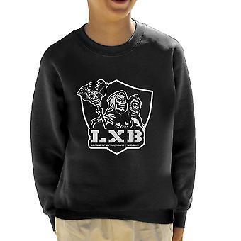 League of ekstraordinært Badguys førerne af universet børne Sweatshirt