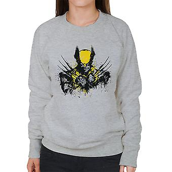 X Men Logan Mutant Rage Women's Sweatshirt