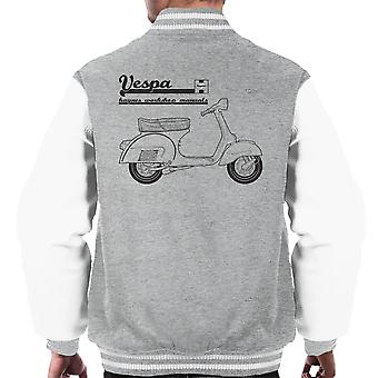 Haynes ejere Workshop Manual Vespa mænds Varsity jakke