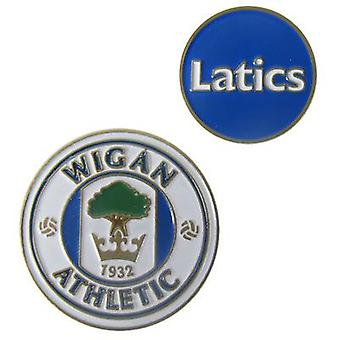 Wigan Athletic Ball markøren