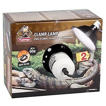 Karlie Flamingo Ceramic-aluminum lamp holders Pinza Max 60 W (Reptiles , Heaters , Lamps)