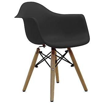 Superstudio Dimer-chair Baby Baby Black Inspiration Daw Charles & Ray Eames