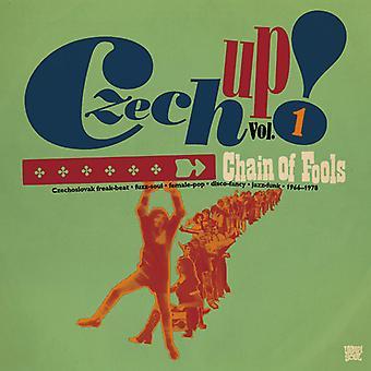 Forskellige kunstner - tjekkiske op 1: Kæde af fjolser [CD] USA import