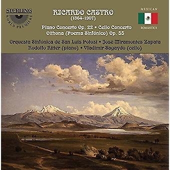 Castro / Ritter / Sagaydo - koncerter [CD] USA import