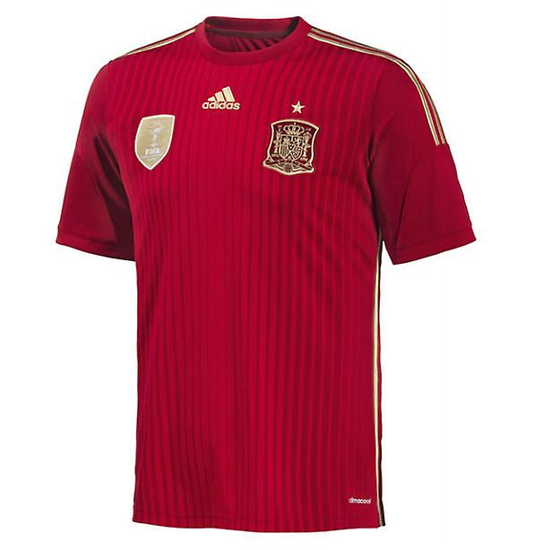 2014-15 Spanien Startseite World Cup Football Shirt
