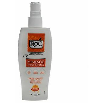 Roc Minesol IP50 + Kids Spray 200 Ml (Children , Cosmetics , Body lotions)