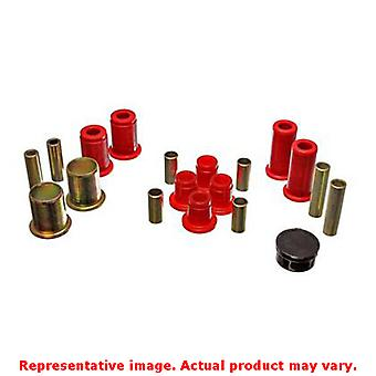 Energy Suspension kontrollarm bussning Set 5.3115R röd Front passar: DODGE 1987-1